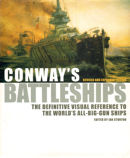 An amazing battleship book - that successfully combines text and photographs (both black and white, and colour).